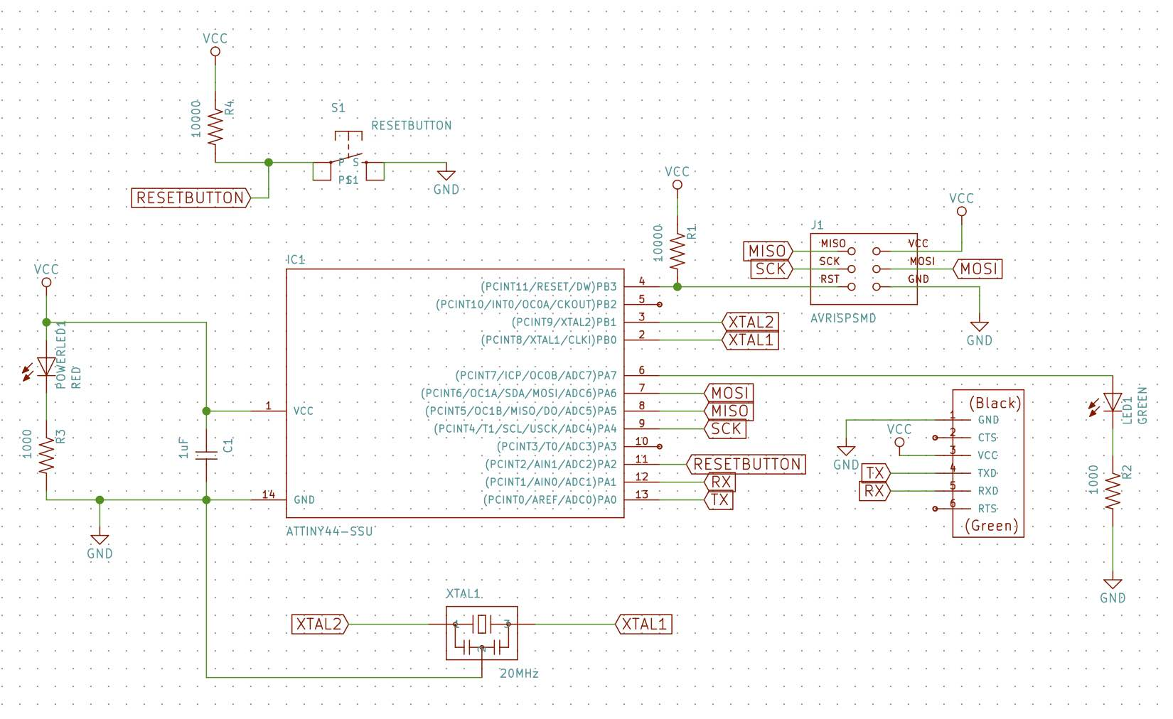 Week 06 Electronics Design Schematics Once We Have Included All The Components Listed Below Schematic Looks Like This