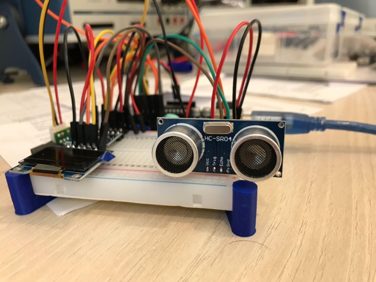 Wael Khalil Fab Academy 2018 Converter Circuit Board Pcb Ultrasonic Sensor Buy