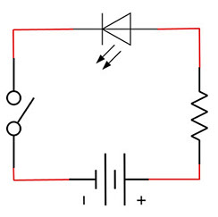 week 5called a schematic diagram these diagrams use symbols to illustrate what electronic components are used and where they\u0027re placed in the circuit