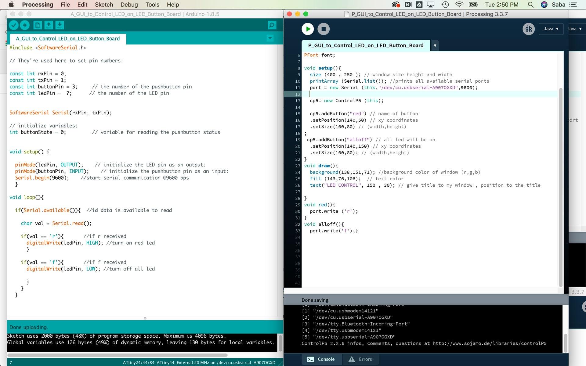 Arduino gui programming download