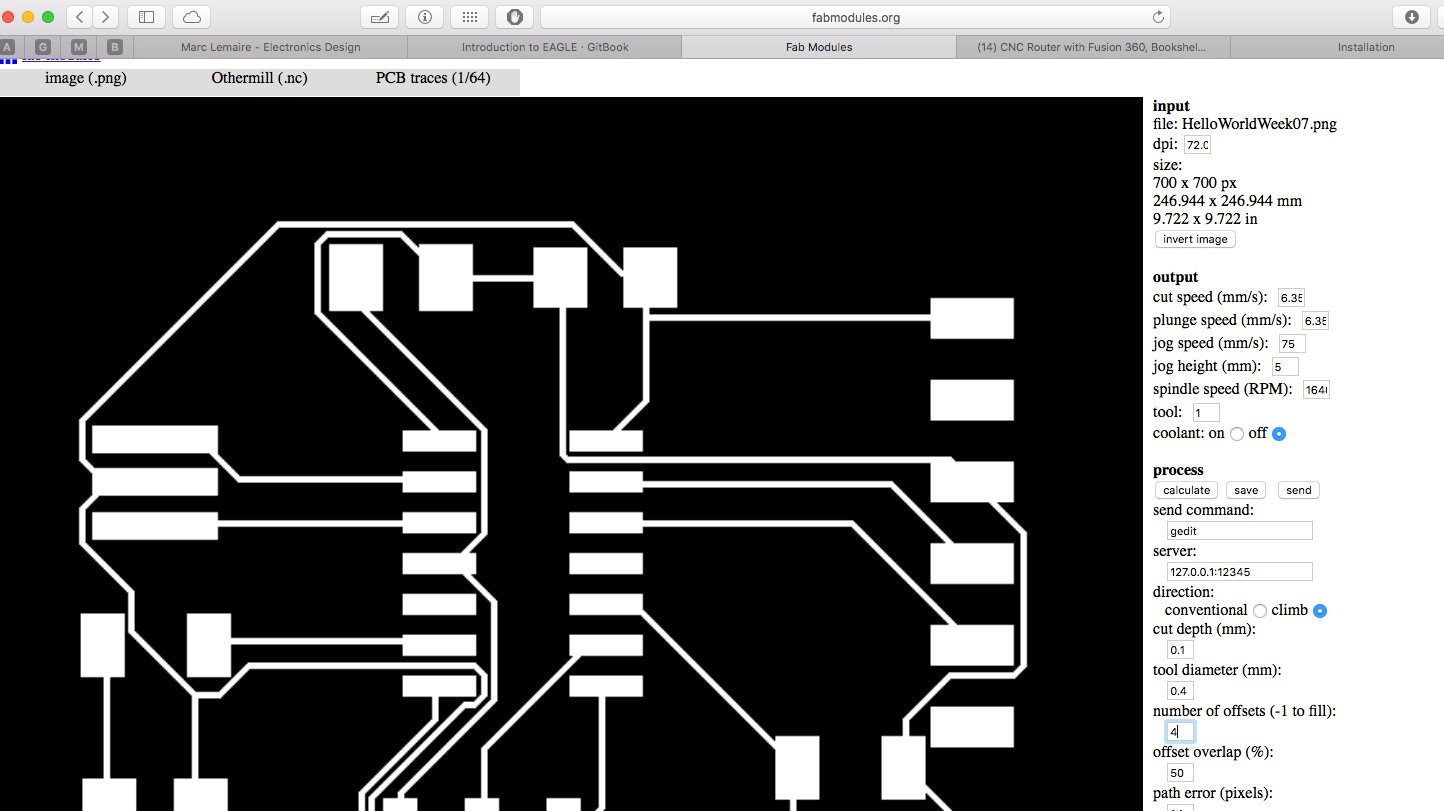 Marc Lemaire Electronics Design Border Around The Circuit Image Cut Board To Size Clean Copper Configuring Machine