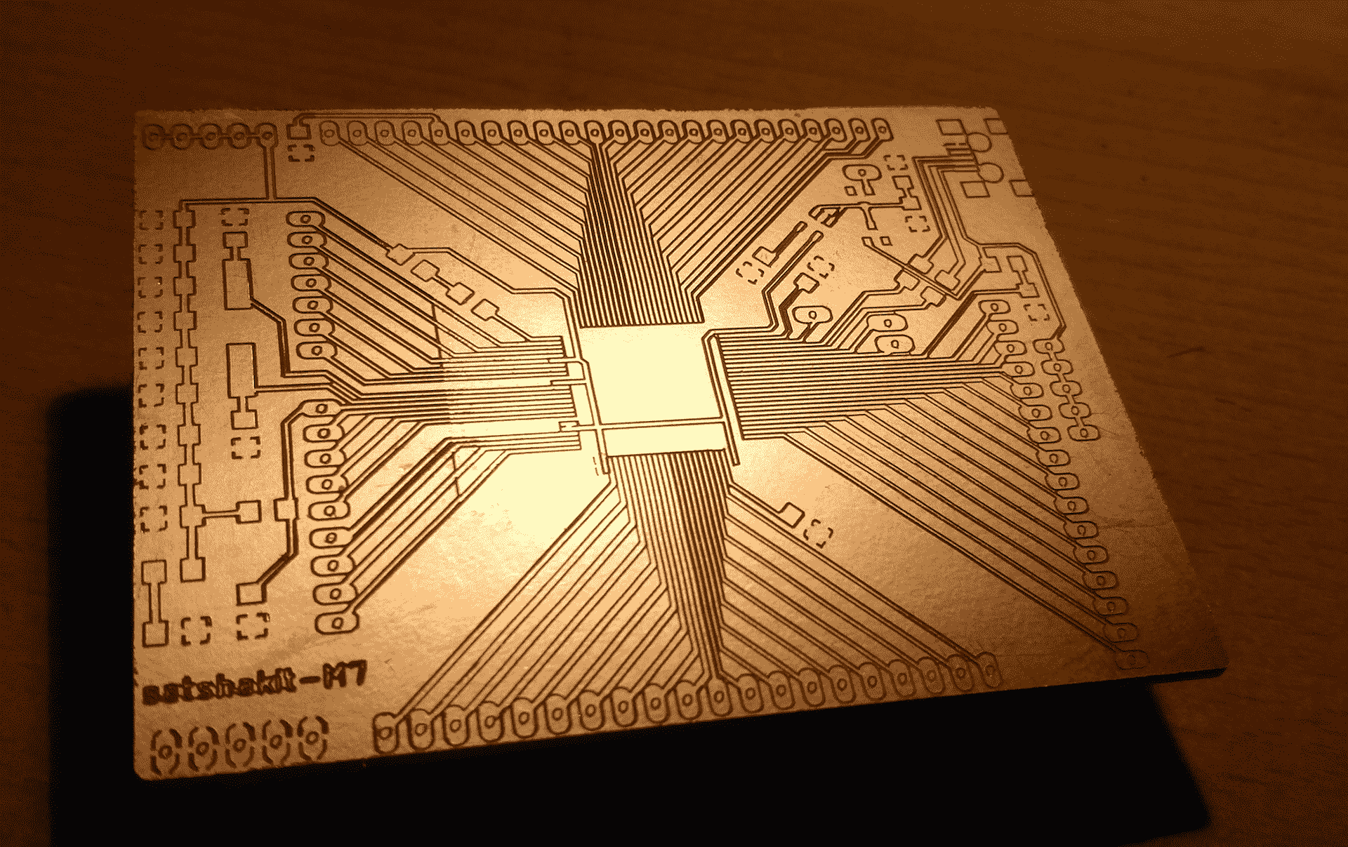 Fab Academy Circuit Boards More Canvas Art Board Pillow Roland Mdx 40a To Mill Our Pcb Have In Order Work With This Machine We Need A Gcode Generate Had 2 Files