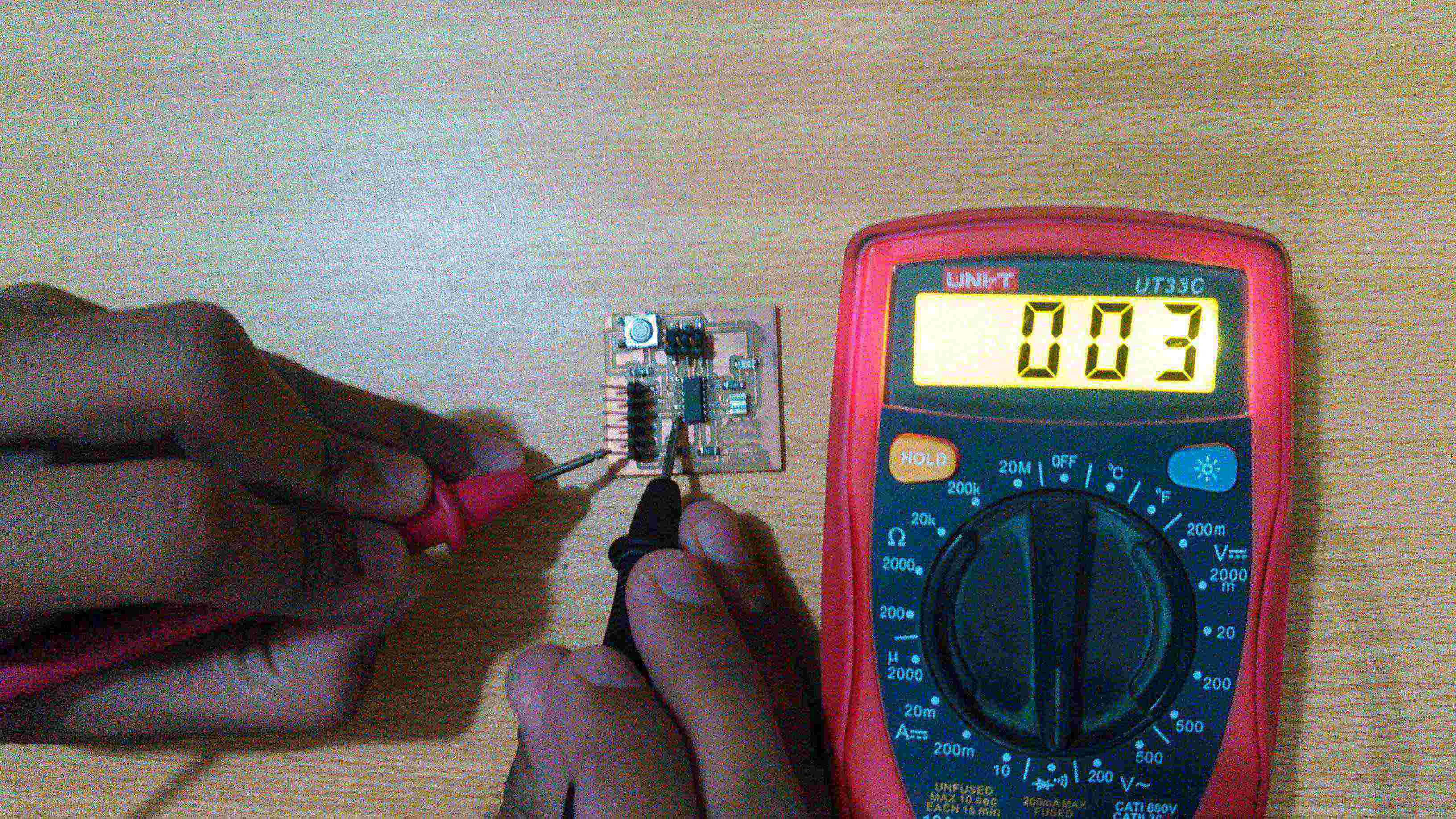 Week7 Electronics Design Diode Tester Circuit Connection Testing From Attiny 45 Ground To Ftdi
