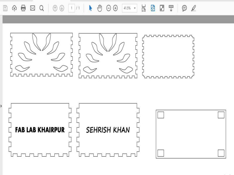 Sehrish Khan Fabacademy2018