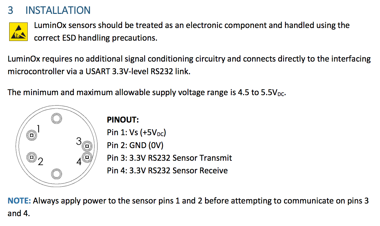 Week14 Circuit Board Milling Is Performed On Our Protomat S63 Pertinent Information From The Data Sheet Which Can Be Found Here Http Sstsensingcom Wp Content Uploads 2017 07 Ds0030rev13 Luminoxpdf
