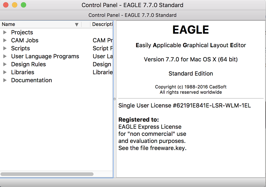 Nice Cadsoft Eagle Mac Pattern - Schematic Diagram Series Circuit ...