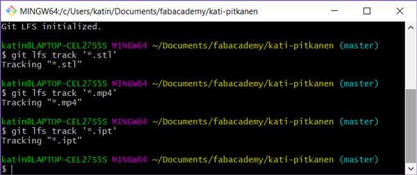 Kati Pitkänen - Fab Academy 2018