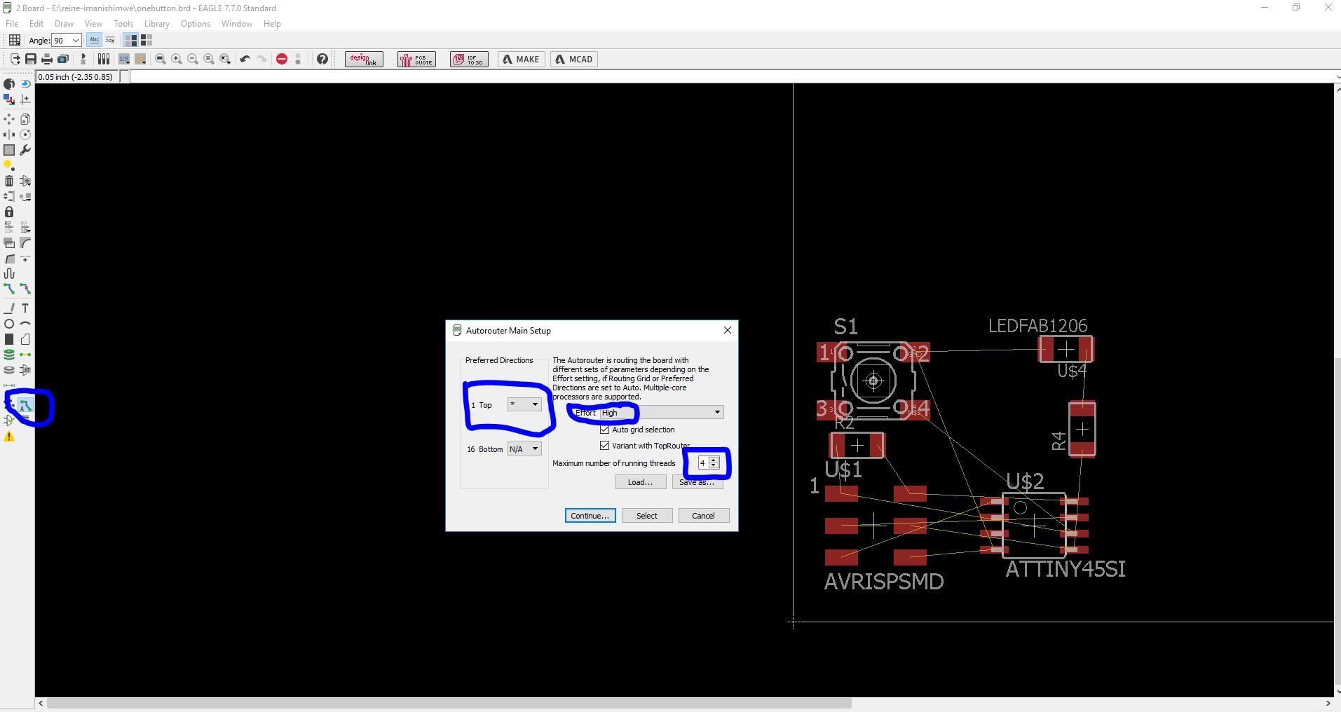Reine Electronic Load Circuit Design Schematic And Pcb Board
