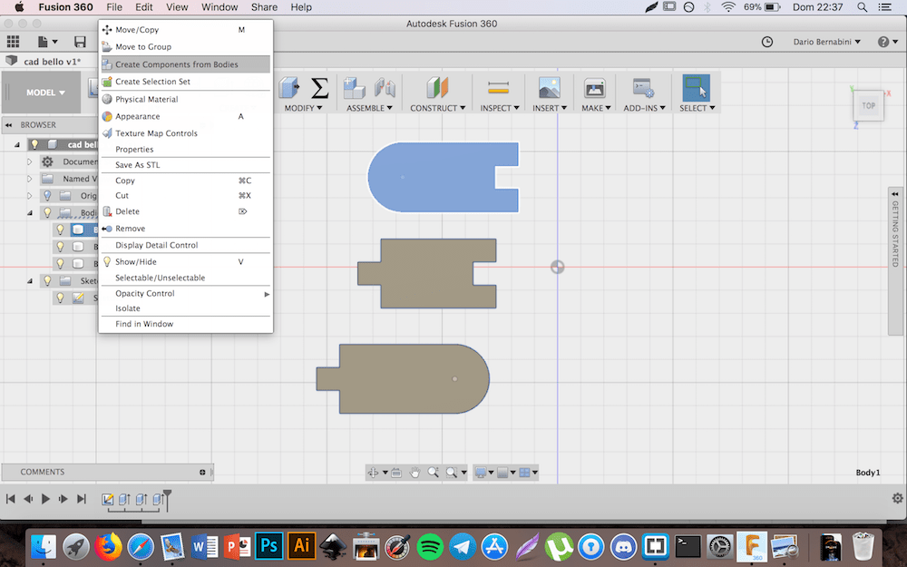 Fusion 360 Plywood Appearance