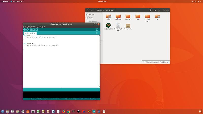Download and install arduino ubuntu