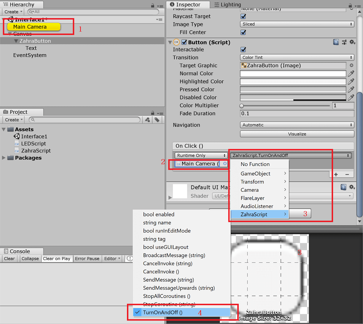 Unity Event System Not Working