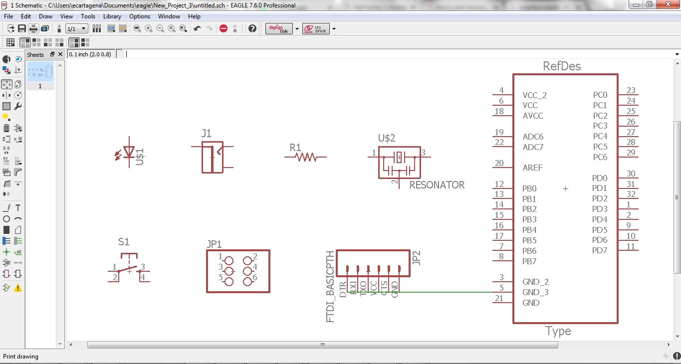 Edu Cartagena Eagle Professional 6 Further Free Pcb Layout On Schematic Make The Diagram Of Circuit