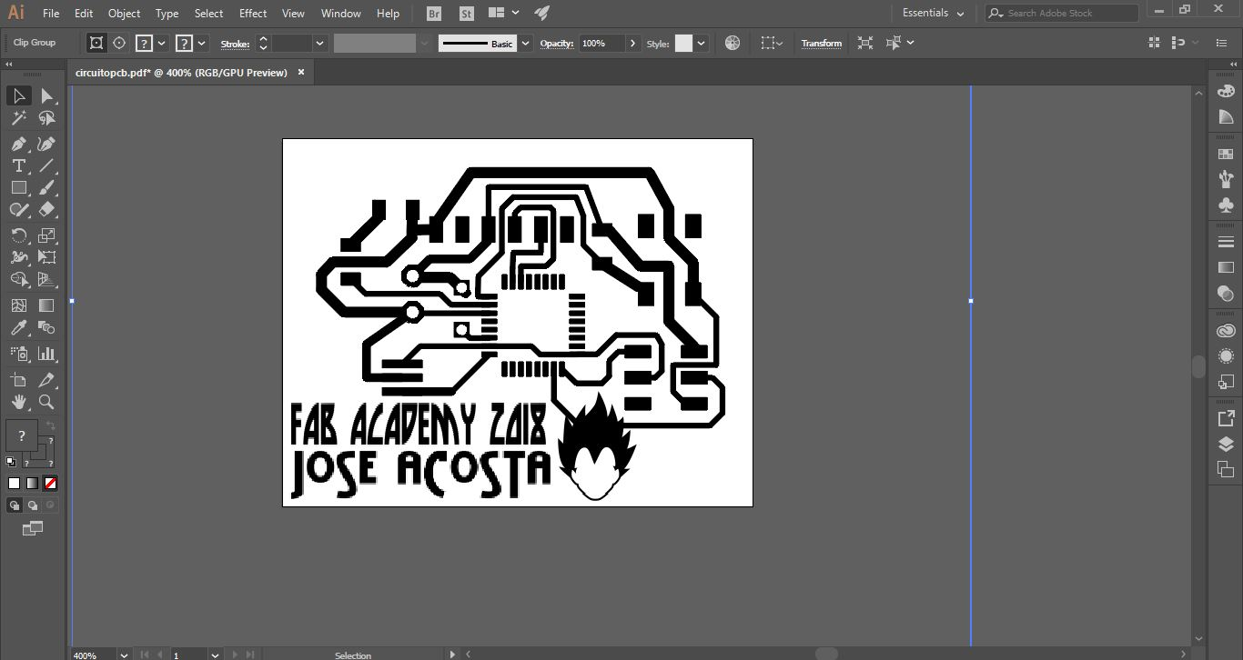 Fabyachay J Acosta Gerber Files For Your Printed Circuit Board Design Online So Simple The Following Steps Are Shown On Week 5 And Correspond To Process Of Preparing Mecanize With