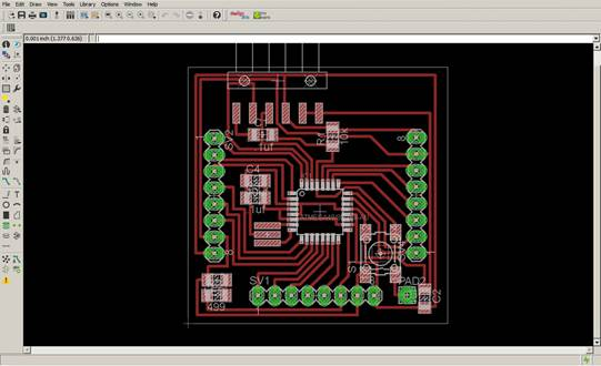 add an output device to a microcontroller board you've