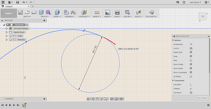 fillet and corner radius