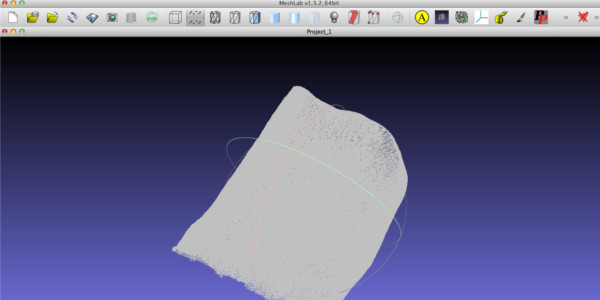 Point Cloud to Mesh   FabAcademy - Tutorials