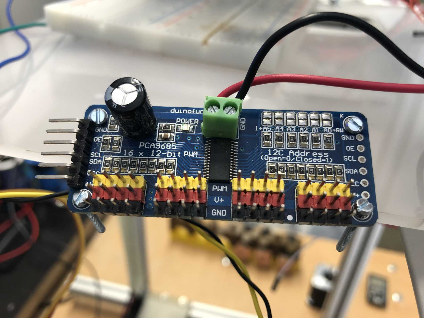 Here S The C3 Connector Pinout Also Showing The Sc Servo Circuits