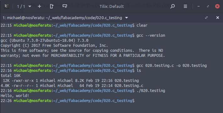 Week 9: Embedded Programming