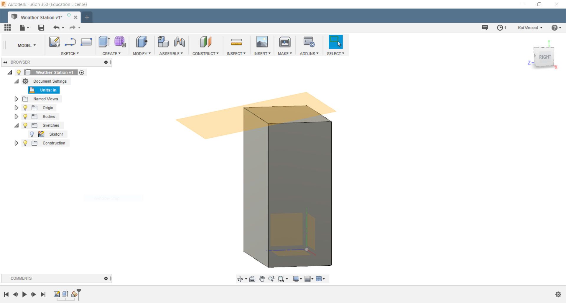 3  Computer Aided design - Kai Vincent - Fab Academy