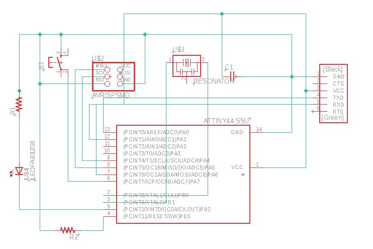 7  Electronics design - Fab Academy Maxine Tan