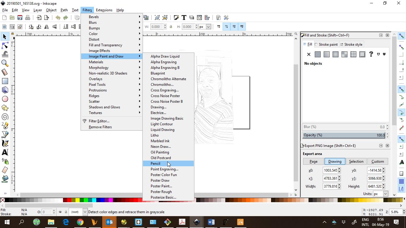 Inkscape Universal Gcode Sender