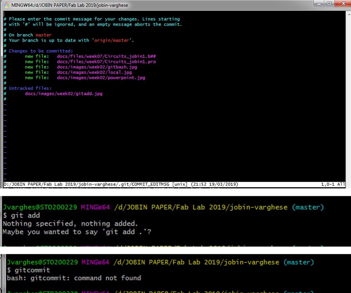 git bash ssh key generation
