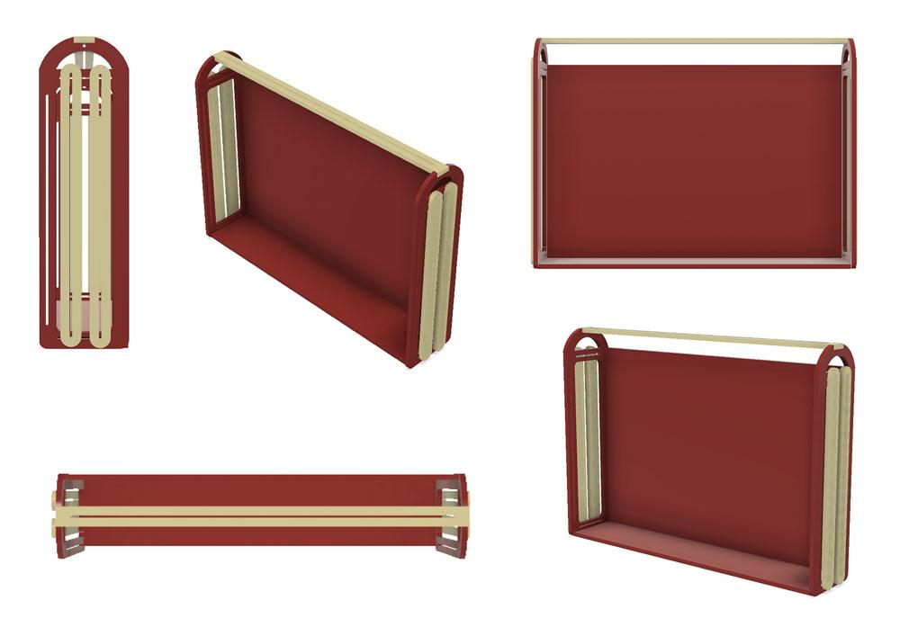 first design of frame