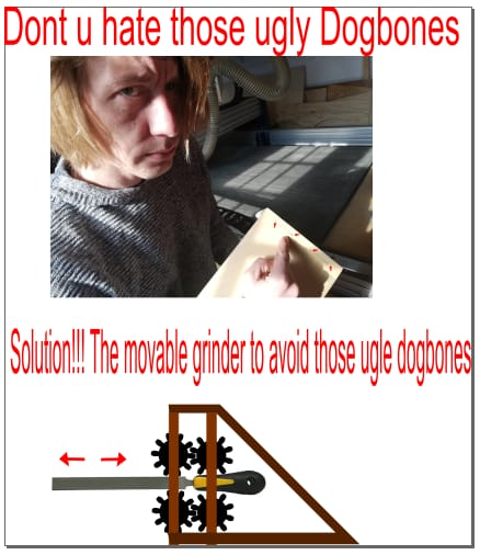 Dogbone machine
