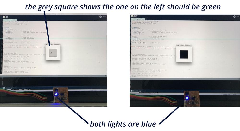 Neopixel interface test