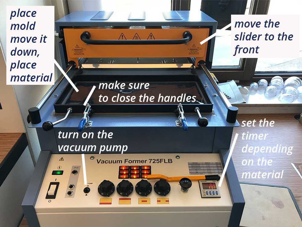 vacuum forming instructions