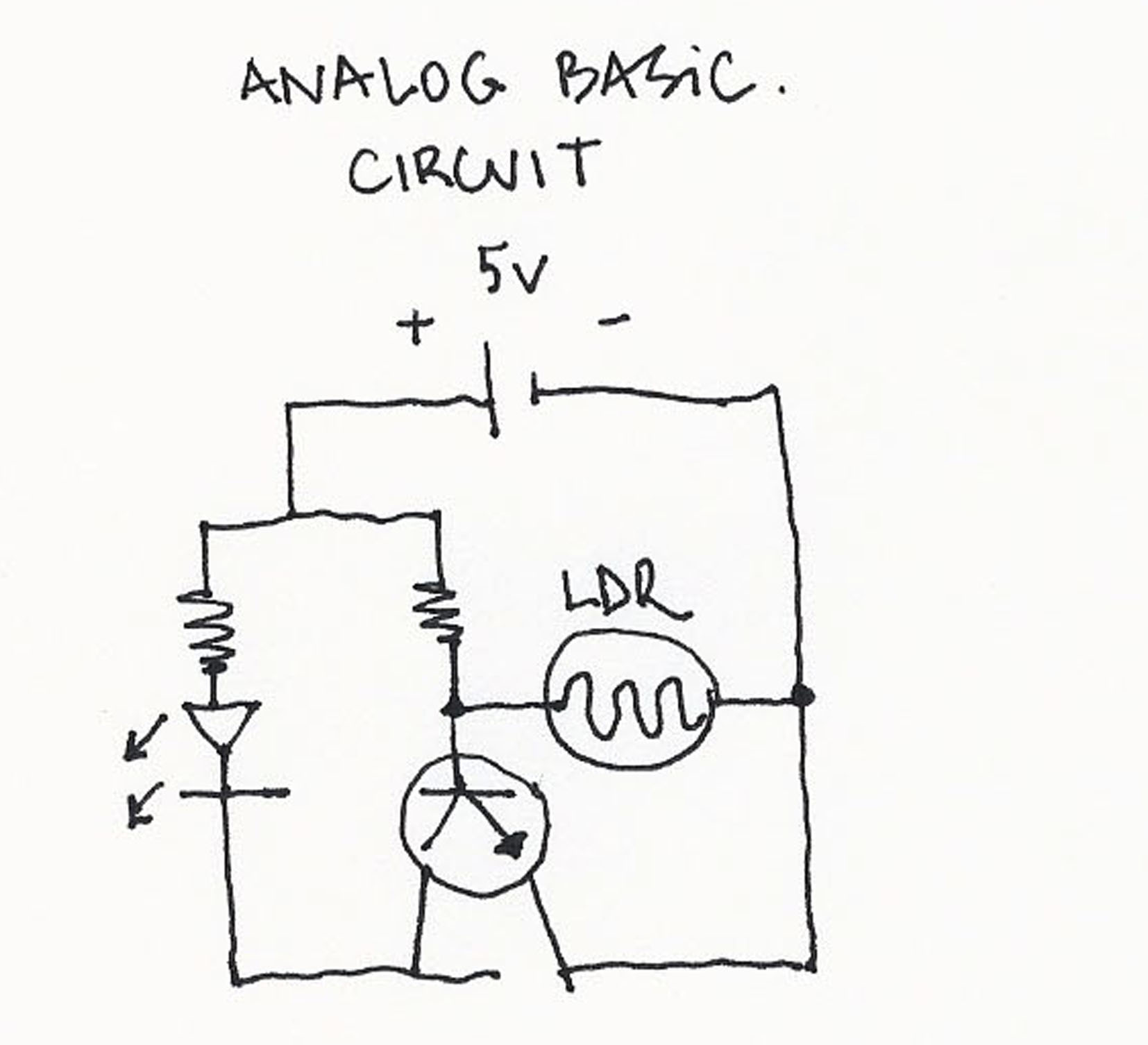 Raquel Gallego Profile Is Light On The Ldr It Allows Current To Pass Through Circuit When There Resistance Low That Activates Transistor And Means We Have A 1