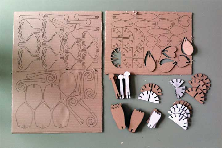 how to laser cut air brush templets