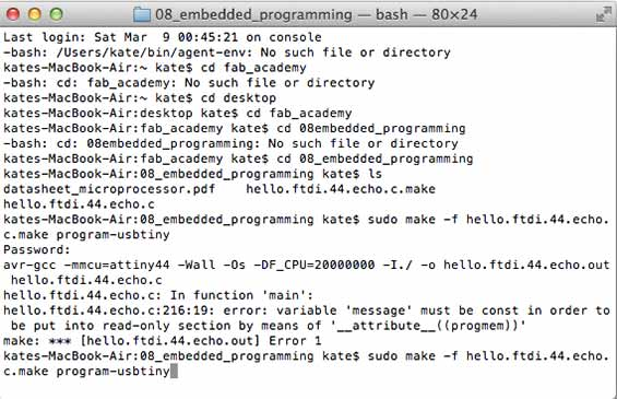 08 Embedded Programming < Kate Balug