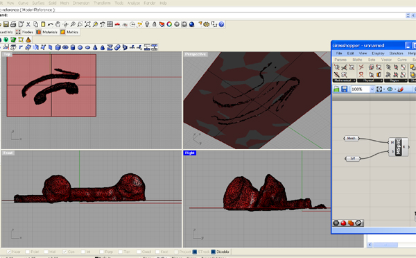 how to cut a hole in an stl file