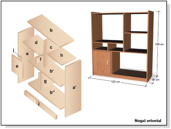 Ricardo torres arag n for Planos muebles de cocina para armar