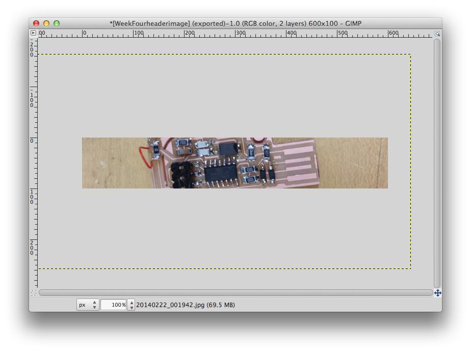 Resize Images on Mac OS using Gimp