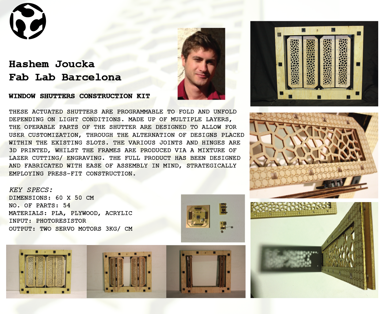 Peter Fearey Fabacademy 2014 About Circuit Construction Kit Ac Dc Only Automatic Adjusting Window Shutter Hashem Joucka