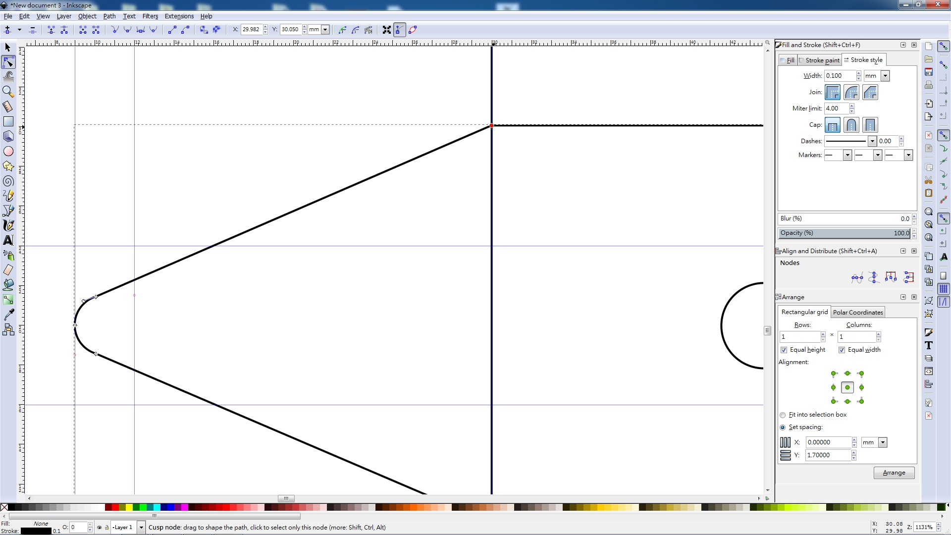 how to get the equivalent of pathfinder tool in inkscape
