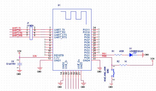 how to add a bluetooth module hc-05 footprint on kicad