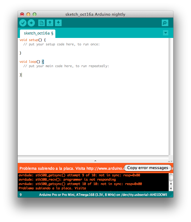 Embedded programming in