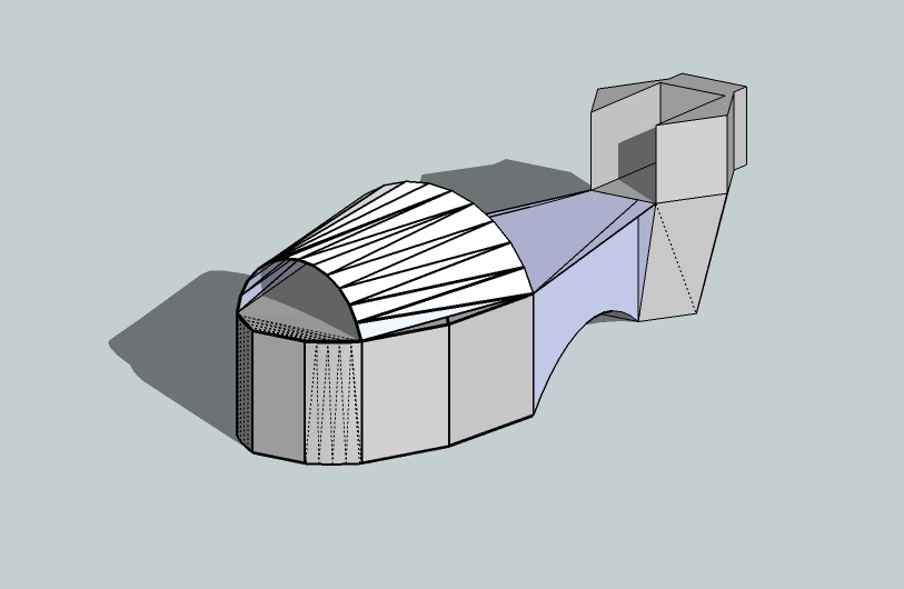 Engineering Design Heel Shifter Motorcycle
