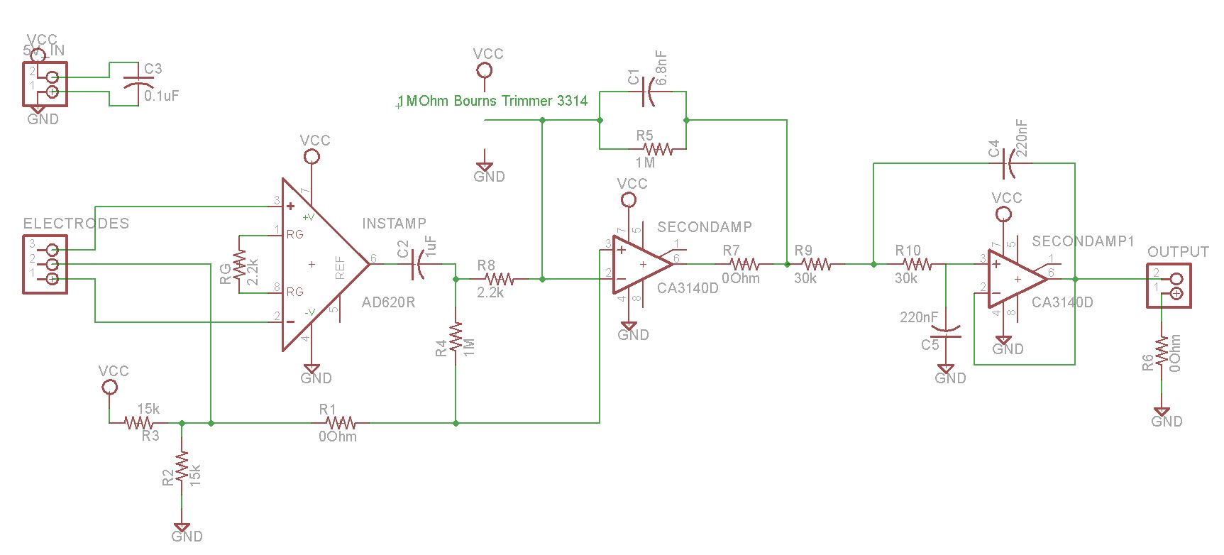 60hz Low Pass Filter Lpf Ecg Circuit Diagram This Is The New Schematic Of Fab With 50hz Active