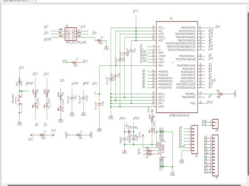 Logic Trainer Schematic Diagram